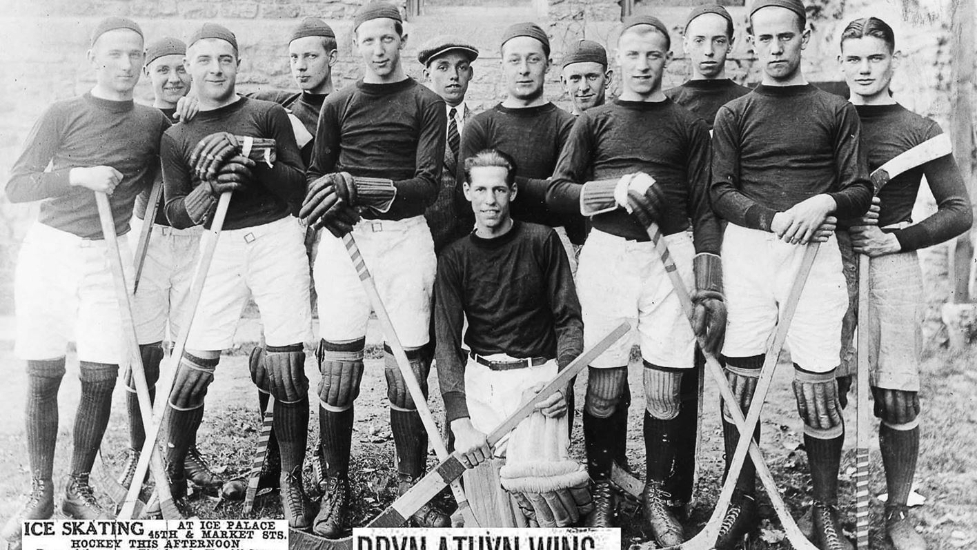 1921 Bryn Athyn Hockey team