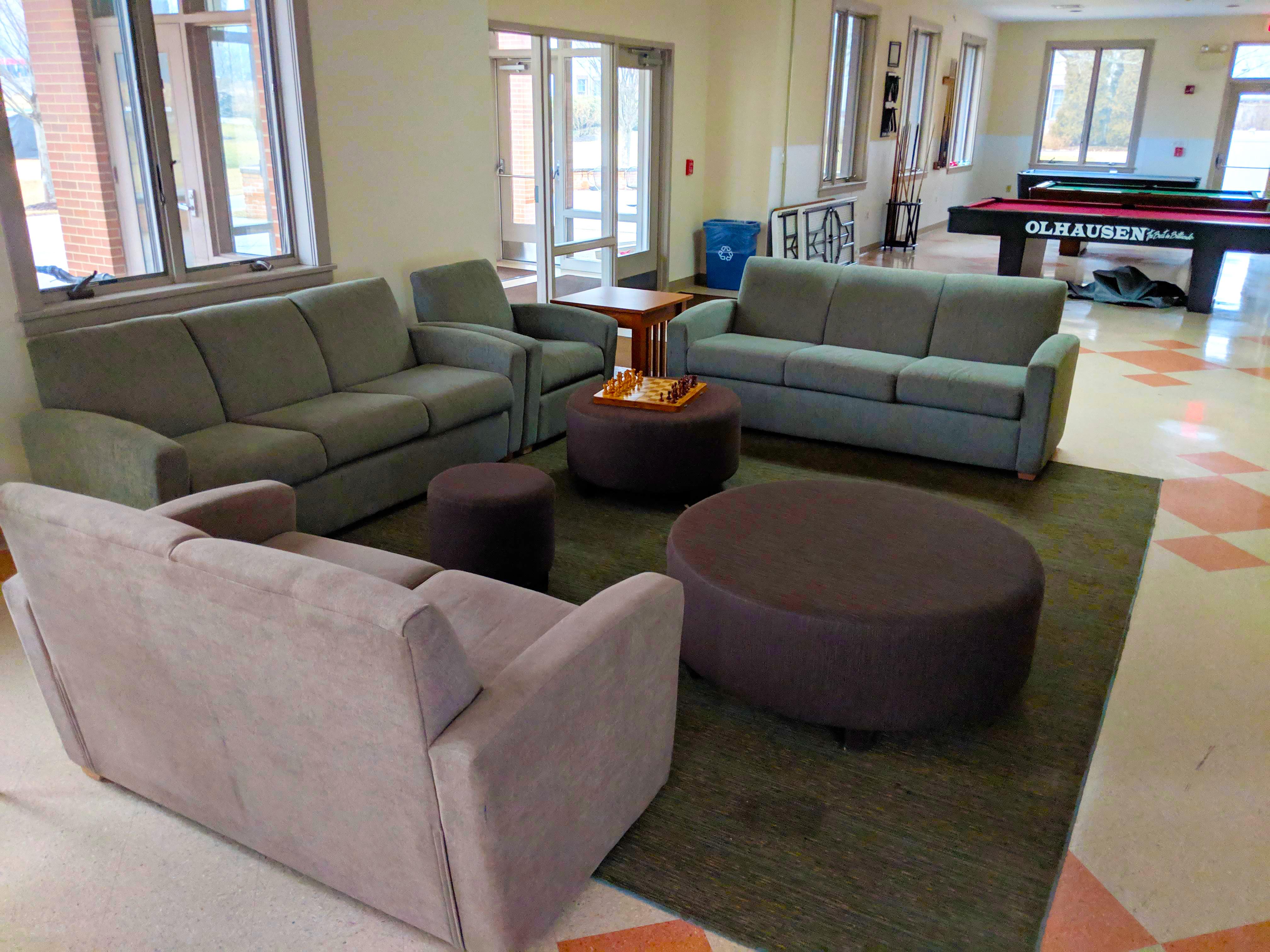 Childs Hall lounge